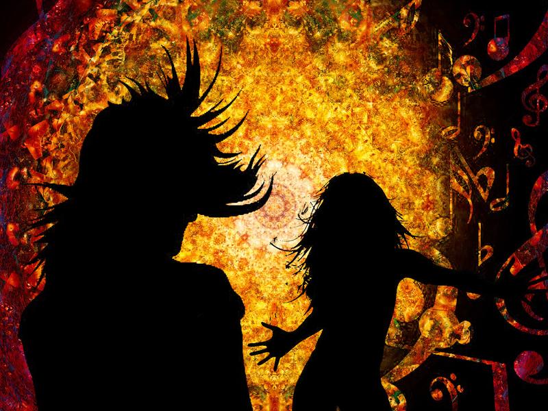 Trance Tanz mit Melina