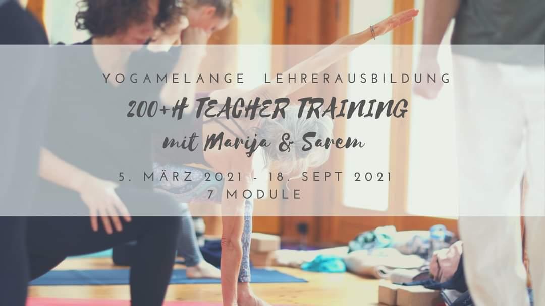 Yogamelange_Teacher Training März 2021